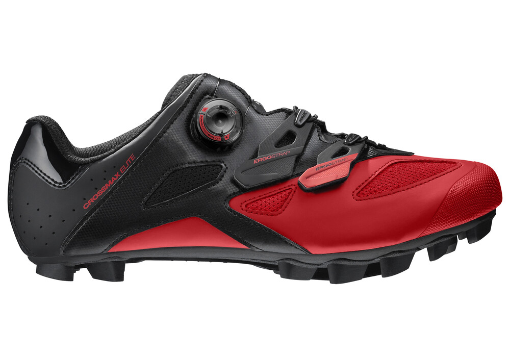 Red Bontrager Mtb Shoes